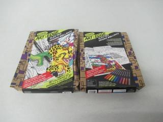 (2) Crayola Art with Edge Colour Slick Pics