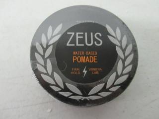 Zeus Pomade Hair Care for Men! - Firm Hold Pomade