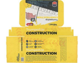 (6) Trumped Up Construction Build Your Own Border