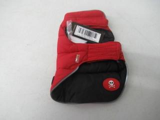 Fab Dog Reversible Puffer Vest Dog Jacket,