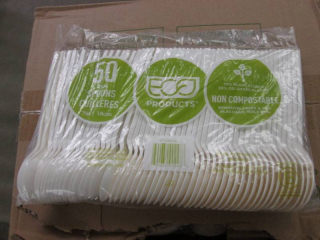 Case of Plant Starch Spoons 1000 ct...
