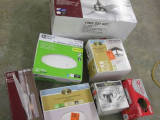 Lot of 8 Lighting Products with mis...