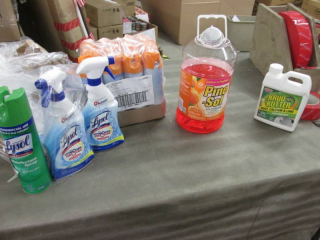 3- Lysol All Purpose Cleaner, Pack ...