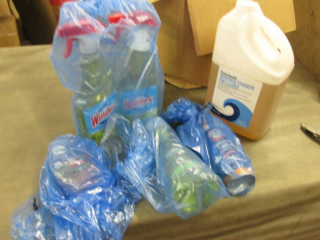 2 Windex, Pine Cleaner, Hand Soap, ...