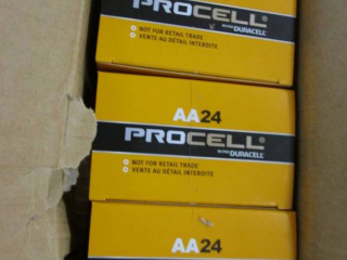 Case of 6-24 packs Procell AA Batte...