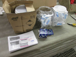 3 Purell Clip Pack Size, Tape, Tax ...