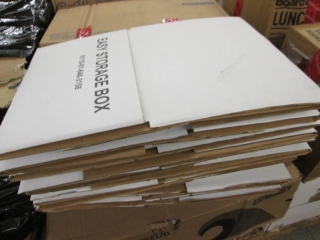 Lot of 12 Easy Storage Boxes...