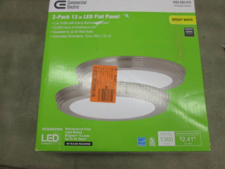 Commercial Electric 24-Watt Brushed...