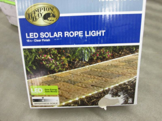Hampton Bay Solar Powered 16 ft. Cl...