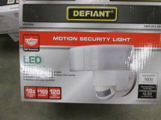 Defiant 180 Degree White LED Motion...