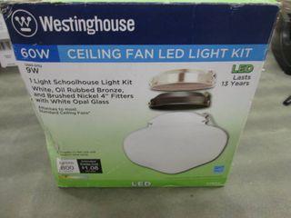 Westinghouse 1-Light LED Schoolhous...