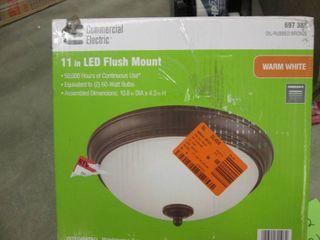 Commercial Electric 11 in. 60-Watt ...