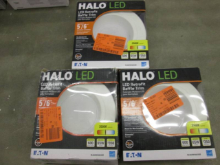 Lot of 3 Halo RL 5 in. and 6 in. Wh...