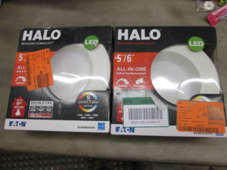 Lot of 2 Halo RL 5 in. and 6 in. Wh...