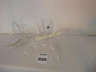 Lovely Glassware