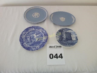 Collectible Plates - Pretty in Blue
