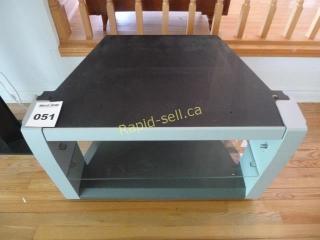 Metal & Glass TV Stand