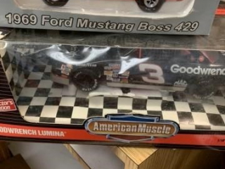 FORD MJUSTANG BOSS 429 , AND GOODWRENCH LUMINA