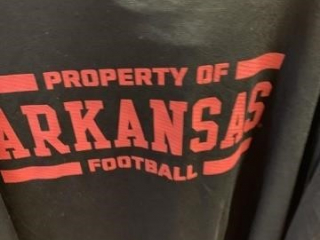 ARKANSAS TEES, ALL SIZES , DIFFERENT STYLES