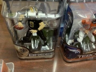 TEBOW AND BREES FIGURES 8