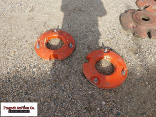1 set of (2) front wheel weights for WD 45. Item i