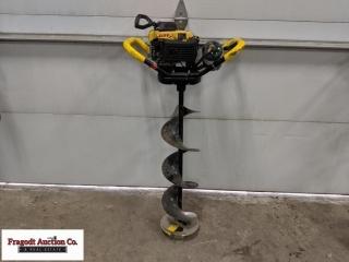 Jiffy Pro 4 propane powered ice auger, 8