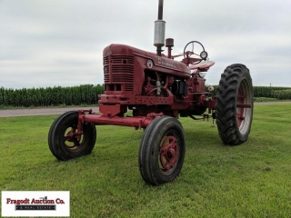 1953 Farmall Super H, wide front, (comes with orig