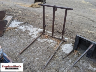 3pt bale fork. Item is located near Milan, MN. For