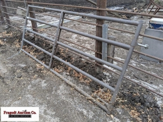 (3) approx. 12? Powder Mounted gates, new, never h