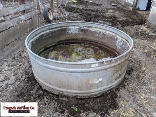 Behlen R-62 Round galvanized water tank. Item is l
