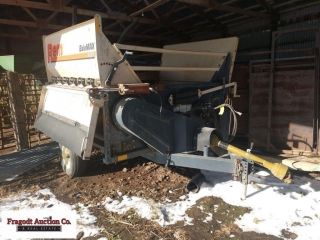 REM Bale Max 3600R bale processor, right hand disc
