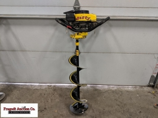 Jiffy Legend Gas powered ice auger, 8