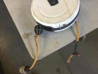 40' cord reel with resistor in line, working order