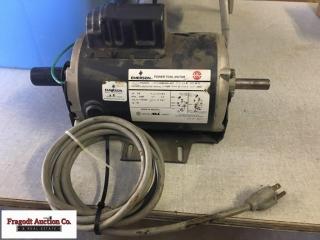 Emerson 3/4hp electric motor, 110/115/230 volt, 11