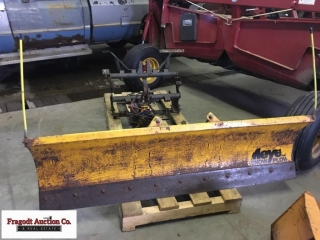 Meyers 6.5' snow plow off Ford Ranger, 30 1/4