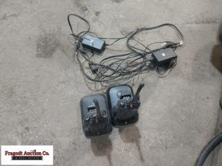 (2) Motorola Portable 2 way radios, Model XPR6550,