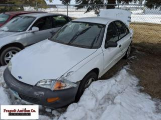 2001 Chevrolet Cavilier, 212k miles, has keys, it