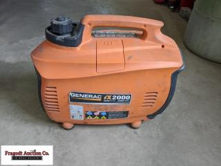 Generac iX2000 generator. Item is located near Ben