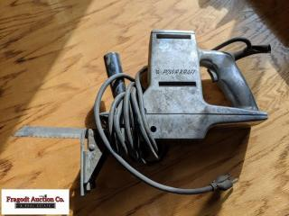 Powercraft reciprocating saw, 2 speed. Item is loc