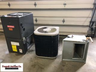 Goodman 86,000 BTU propane furnace and Goodman cen