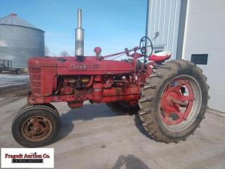 Farmall Super H, 2wd, Power Steering, Live Hydraul