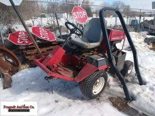 Toro 345 Groundmaster Mower with 72 side discharge