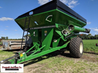 2000 Brent 876 Grain Cart, center auger, 1000 PTO,