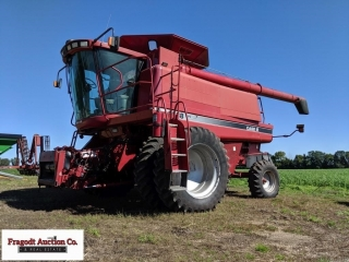 2001 Case IH 2388 Axial Flow combine, 2,536/3,462