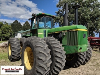 1979 John Deere 8640 4WD, one owner, 9,630 hours,