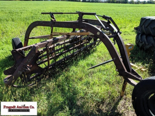 5 bar ground driven hay rake, 8?