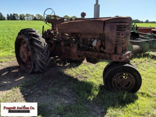 Farmall M, purchased new, Narrow Front, rough shap