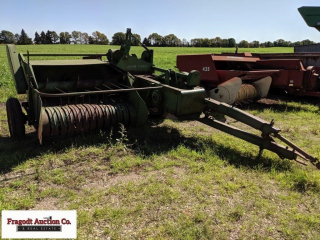 John Deere 14T square baler, Unknown Working Condi