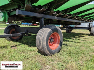 4 Wheel Header Trailer ? Extendable Hitch