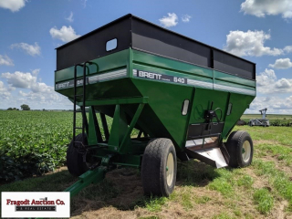 Brent 640 Gravity Box ? Brakes, Extendable Hitch,